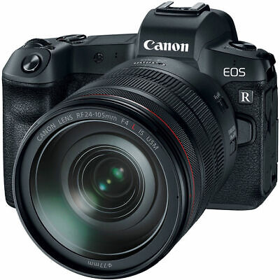 Canon EOS R Mirrorless Digital Camera with 24-105mm Lens 3075C012