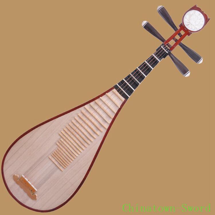 Liuqin - Chinese Soprano Pipa Lute Guitar Xinghai Musical Instrument #4122