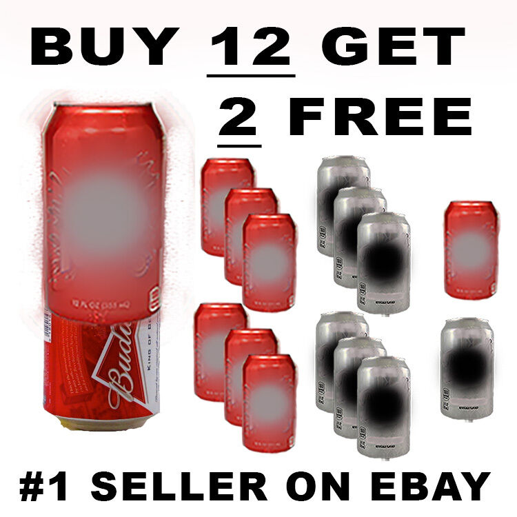 14 PACK ALUMINUM HIDE A BEER CAN SODA COVERS CAMO WRAP SLEEVES DISGUISE GOLF