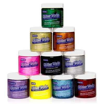 Davis Glitter Works Grooming Glitter Gel For Cats Dogs Pets. *Choose Your Color*