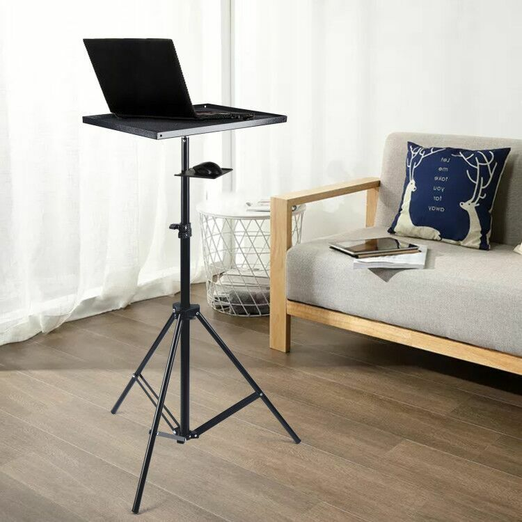 Laptop Table Tripod Support Height Adjustable 69cm -190cm + Mouse Tray HOT SALE