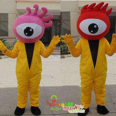 Adversting Sina Weibo Mascot Costume Parade Outfit Blog Party Suit Dress Cosplay](Cosplay Blog)