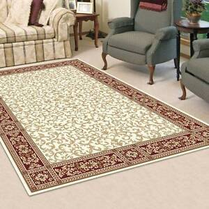 TRADITIONAL DESIGN CARPET-FLOOR RUG-COLOR-CREAM(11537)-120X170CM Bass Hill Bankstown Area Preview