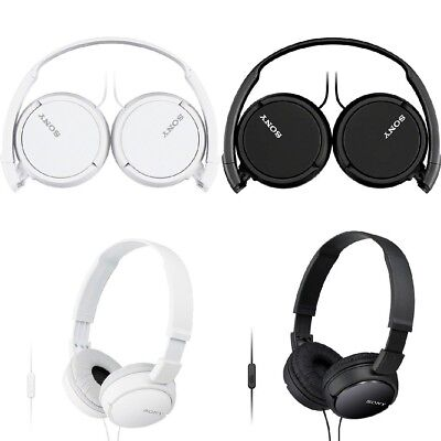 Sony MDRZX110AP ZX Series Extra Bass Smartphone Headset with Mic MDR-ZX110AP Extra Bass Series Headphones