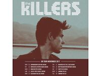 1 x The Killers ticket Aberdeen face value
