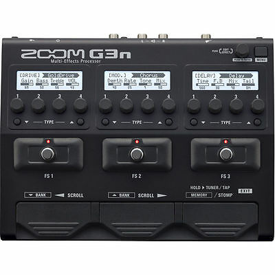 New Zoom G3n Multi-effects Processor Auth Dealer Warranty Best Offer Buy it now! for sale  Shipping to South Africa