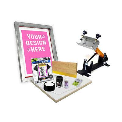 Diy Shocker 101 Kit With Pre-burned Screen Printing Starter Beginner 11-3