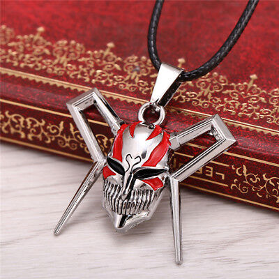 Bleach Ichigo Mask (Bleach Ichigo Kurosaki Bankai Ultimate Full Hollow Mask Pendant)