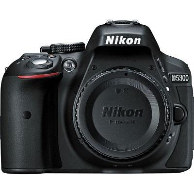 NIkon D5300 24.2MP Digital SLR Camera Portion Only - Black Friday Deal