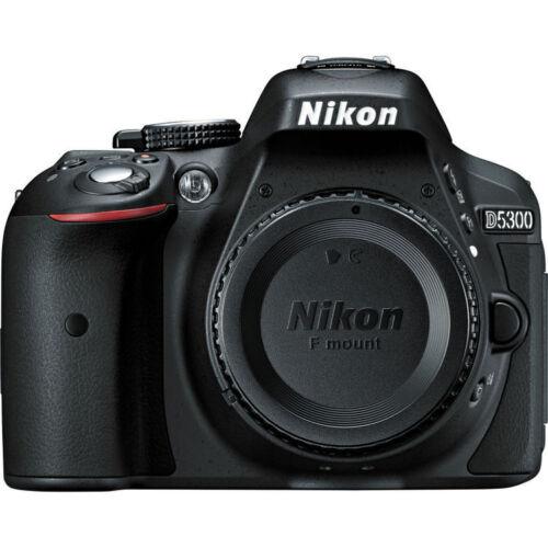 Nikon D5300 DSLR Camera (Body Only) Black 1519