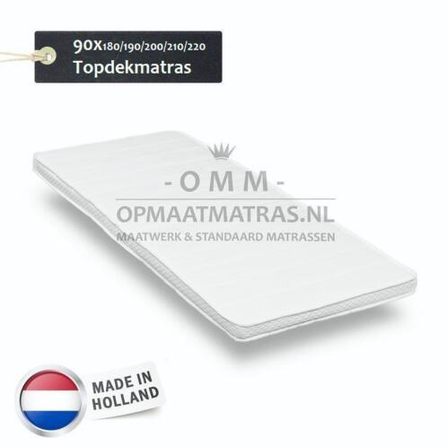 Topdekmatras / Topper 90x200, 90 200 - Polyether