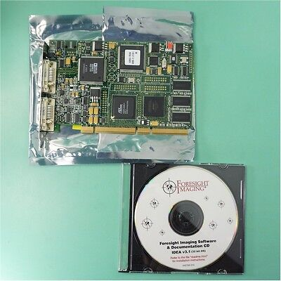 Foresight Accustream 170 Capture Board 030000 100  Rev 10D  With Software 32Bit