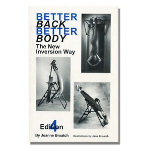 Better Back Better Body  - Inversion table book