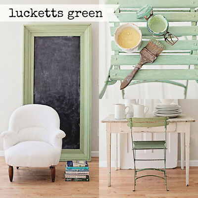 ( Miss Mustard Seed's Milk Paint - LUCKETTS GREEN - Furniture Painting DIY  )