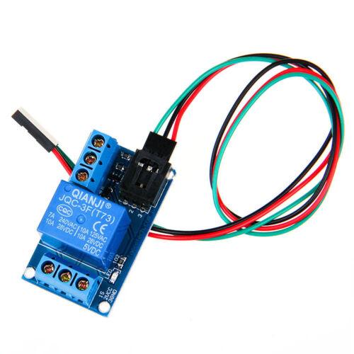 One channel relay module board shield pin f jumper