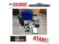 Boxed PS2 console plus over 6000 Retro Games Sega Nintendo SNES NES Megadrive Atari
