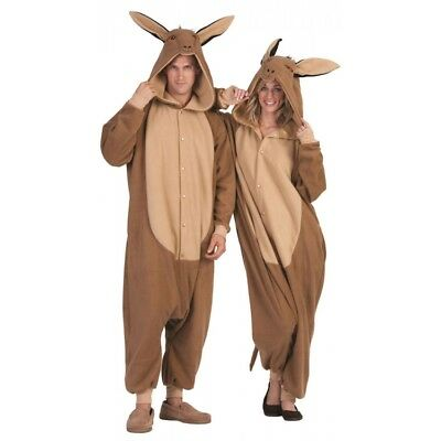 DOM THE DONKEY ADULT COSTUME MULE FARM ZOO ANIMAL PAJAMAS FUNSIES BROWN MENS](Farm Animal Costumes)