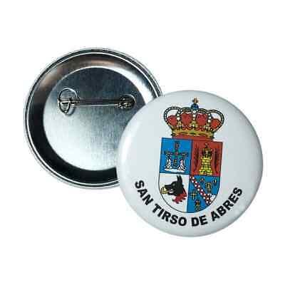 CHAPA ASTURIAS – ESCUDO CONCEJO SAN TIRSO DE ABRES