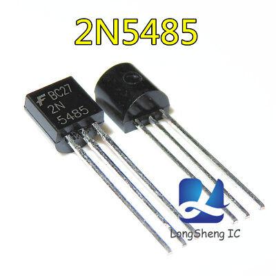 10pcs Rf Jfet Transistor 2n5485 Fairchildmotorola To-92 New