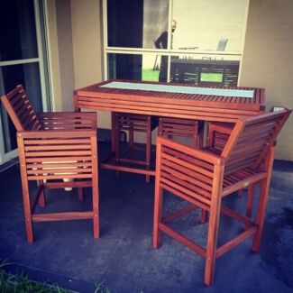 Wooden Outdoor Setting Catherine Field Camden Area Preview