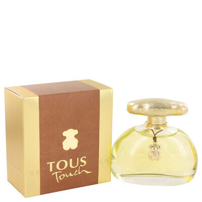 Tous Touch by Tous 3.4 oz 100 ml EDT Spray Perfume for Women New in Box