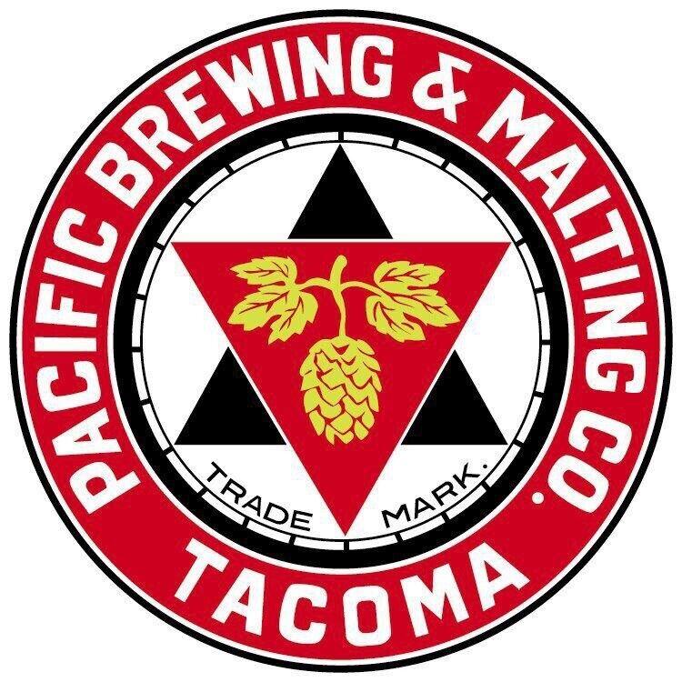 Pacific Brewing Company Sticker decal craft Brewery Micro Tacoma WA Washington