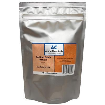 1 Lb Red Iron Oxide - Fe2o3 - Natural Source