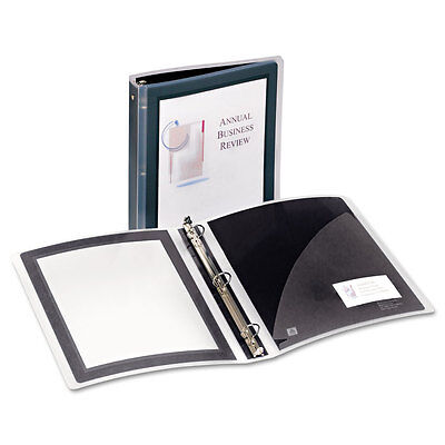 Avery Flexi-View Round-Ring Presentation View Binder, 1-1/2