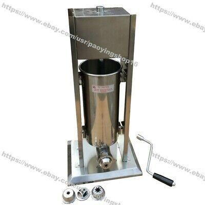 3l Manual Stainless Steel Spanish Donuts Churrera Churro Machine Maker Filler