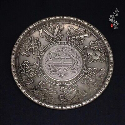 Collection China OLD  Tibetan silver  Chinese Silver coin  plates N