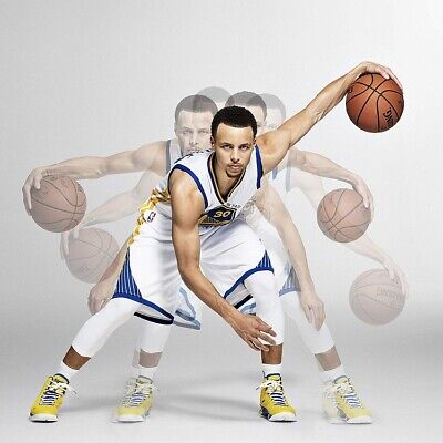 STEPH CURRY DRIBBLE MOTION POSTER, size 24x24
