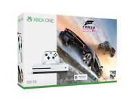 Xbox One S White - Forza Horizon 3 Bundle - Brand new / sealed - unwanted prize. Great Xmas present!