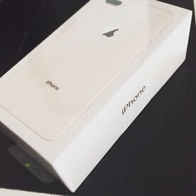 Apple iPhone 8 plus 256 gb brand new