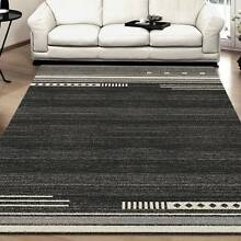 MODERN RUG-CARPET-FLOOR RUG-160CM X 230CM-COLOR-BLACK--(3435) Bass Hill Bankstown Area Preview