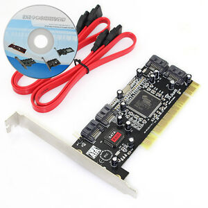 New-Arrival-4-Port-4-SATA-SERIAL-ATA-PC-PCI-CONTROLLER-RAID-CARD