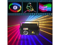 Mini 1W 2D/3D/SD laser light/disco light/stage light/pub light/lazer light
