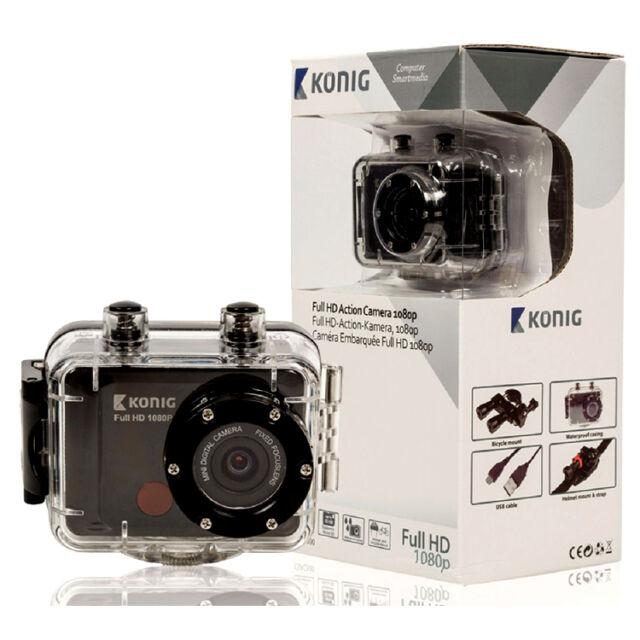 Full HD Action Camera 1080p - KONIG CSAC300