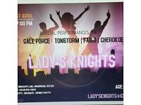 Ladys nights tickets