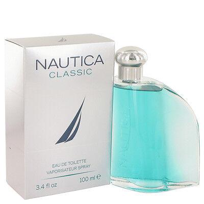 NAUTICA CLASSIC 3.4 Oz Eau De Toilette Spray For Men SEALED NEW BOX