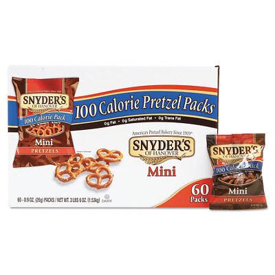 SNYDER'S Mini Pretzels Original 0.9 oz Bags 60/Carton -