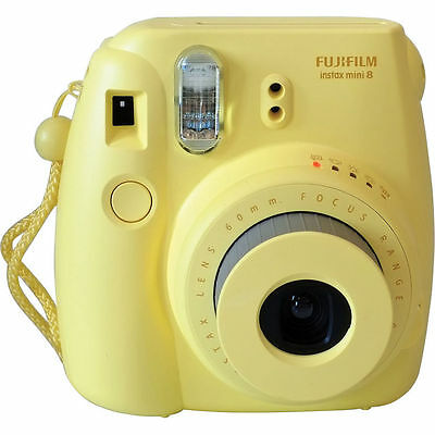 Fuji Fujifilm instax mini 8 Yellow Moment Film Camera