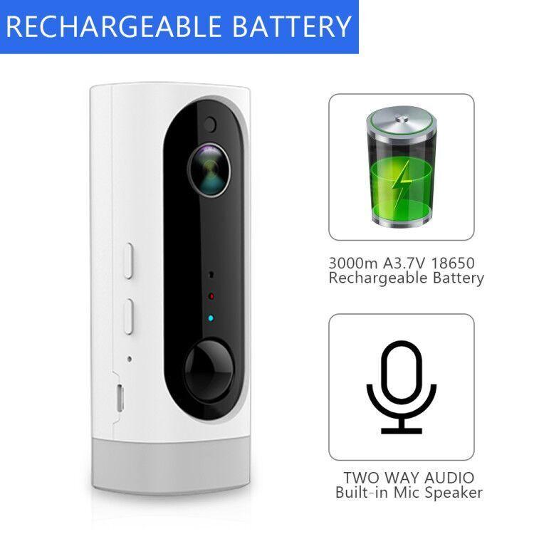 Zmodo Greet Wireless Smart Video Doorbell Silver ZH-CJAED