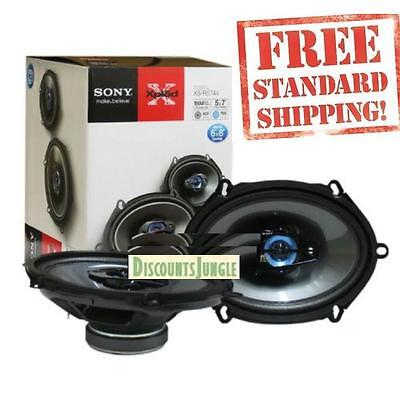 """SONY XS-R5744 5 x 7"""" / 6 x 8 inch 4-WAY 380W  CAR AUDIO SPEA"""