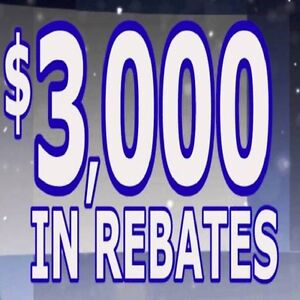 ". . .CANADIAN WINDOWS. . .  "" FACTORY REBATE $ 3000 """