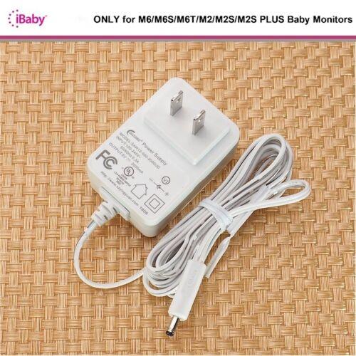 NEW OEM iBaby AC Adapter for M6/M6S/M6T/M2/M2S PLUS Baby Monitor ++FREE SHIP!