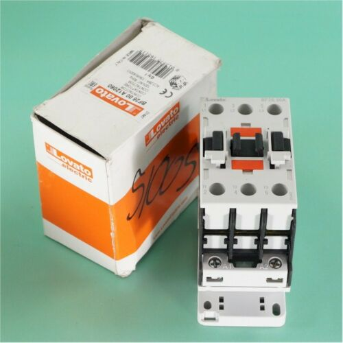 NEW Lovato BF2600A12060 26 AMP, 3 Pole IEC Rated Contactor