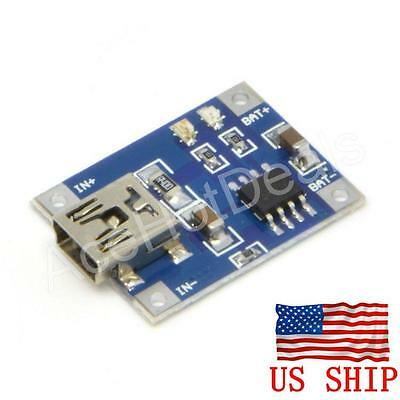 Tp4056 5v Micro Usb 1a Lithium Battery Charging Board Charger Module Arduino
