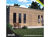 20x10 'Statesman Mancave' Heavy Duty Wooden Garden Shed/Workshop/Summerhouse
