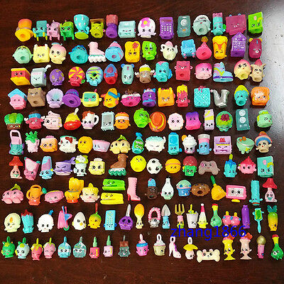 100PCS Lot 2016 Random Shopkins of Season 1 2 3 4 5 Loose Toys Action Figure