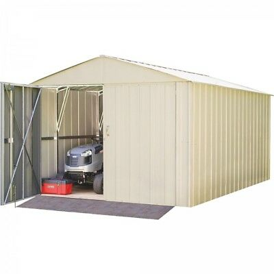 Storage Garage Metal Building Galvanized Steel Shed Utility Building 10 X 15
